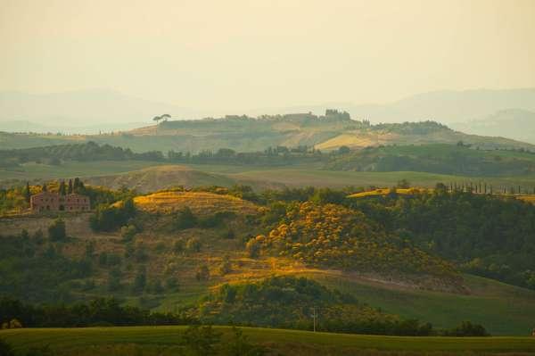 Pienza world heritage site