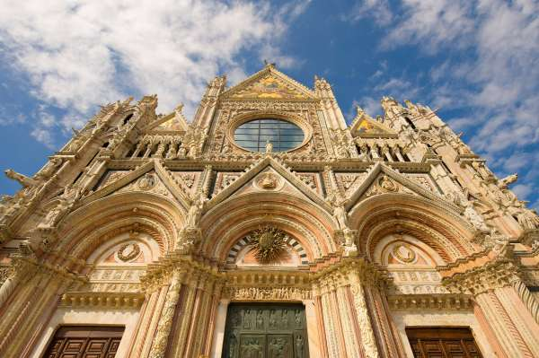 the duomo in Sienna
