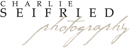 Charlie Seifried Photography logo.