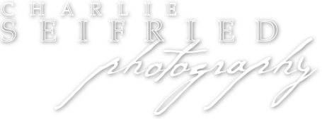 Charlie Seifried Photography reverse logo.